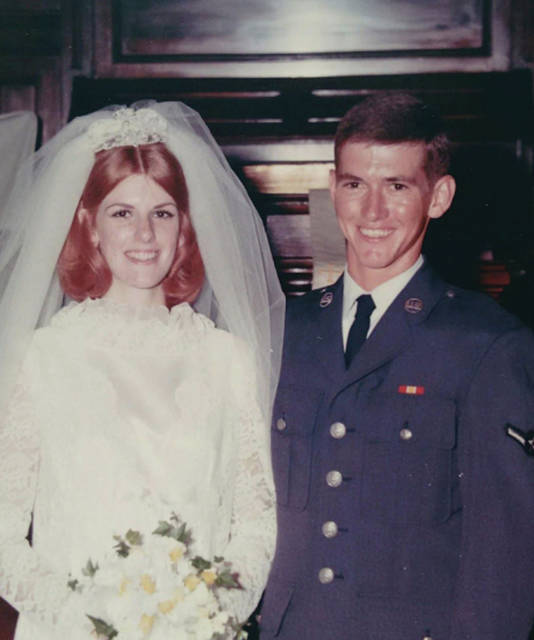 Provided photo  Doug and Donna Snipes were married on August 16, 1969, in the United Methodist Church in St. Paris.