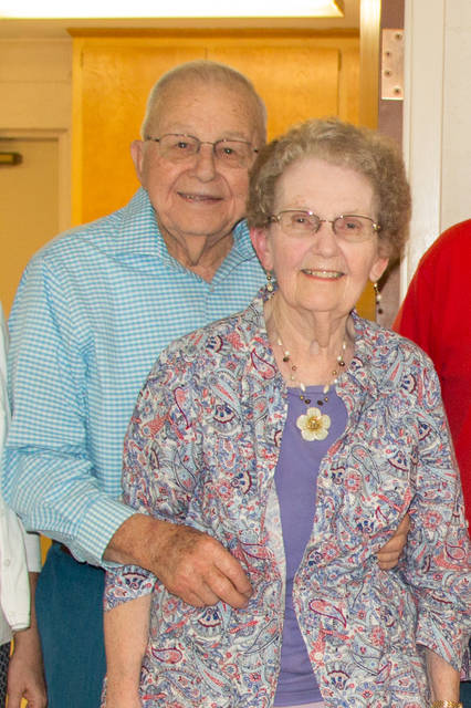 Provided photo Dale and Esther Spitler of Troy have been married for 70 years.