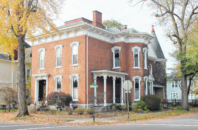 Provided photo Among the homes featured in the Piqua-Caldwell Historic District home tour will be the William Webster Wood House built in 1876. This two-story, three-bay brick residence is among Piqua's finest examples of the High Victorian Italianate style.
