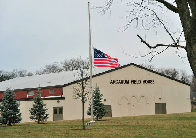 Flags in Arcanum fly at half-staff as visitation for Motor Carrier Enforcement Inspector Kimra J. Skelton is being held on Tuesday at the Arcanum Field House. Funeral services will be held on Wednesday. According to an OSHP press rrelease, on Wednesday, November 27, MCEI Skelton was parked in a crossover when her vehicle was struck on Interstate 75 in Miami County. MCEI Skelton joined the Patrol in October 2005 as a traveling dispatcher assigned to the Piqua District Headquarters. In 2011, she transferred to the Piqua Driver License Examination Station as a driver license examiner 1. In 2016, she was promoted to a motor vehicle inspector and transferred to the Piqua District Commercial Enforcement Unit. In 2017, she was promoted to a motor carrier enforcement inspector.