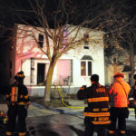 Vacant home damaged by fire