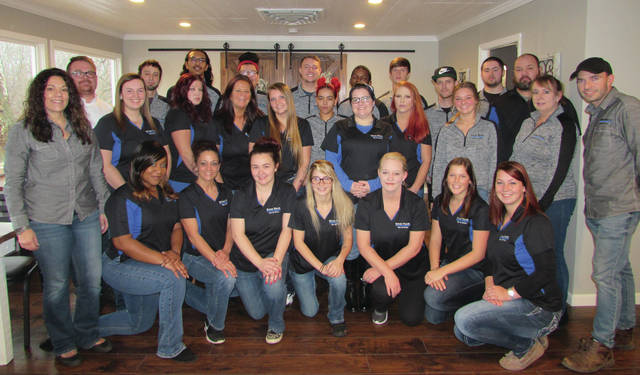 River Rock Bar and Grille's staff includes almost 30 new employees trained and experienced in their positions.