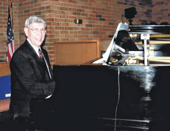 Darrell Cornell has been the music minister at First Baptist Church in Troy for over 60 years.