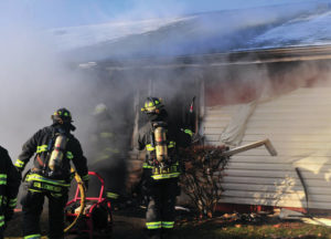 Apartment complex fire displaces 8 families