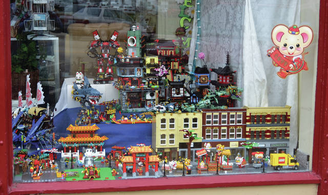 For All Seasons, Ohio's Hospice of Miami County store, currently is displaying a Chinese New Year — Year of the Rat window display at their location at 2 W. Main St., Troy. The display features more than 20,000 LEGOs and is viewable from the outside. The store, which benefits Hospice, is open from 10 a.m. to 6 p.m. Tuesday-Friday and 10 a.m. to 4 p.m. Saturday. Visit For All Seasons on Facebook.
