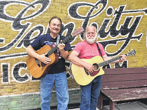 Provided photo Local acoustic duo Jerry & Vaughn LIVE will bring their unique blend of folk, bluegrass and rock to the Troy-Hayner Cultural Center on Friday, March 27, performing a free community concert starting at 7:30 p.m.