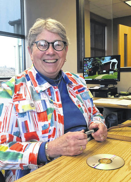 Melanie Yingst | AIM Media Midwest Concord Township fiscal officer Pat Quillen gave her last financial report on Wednesday.