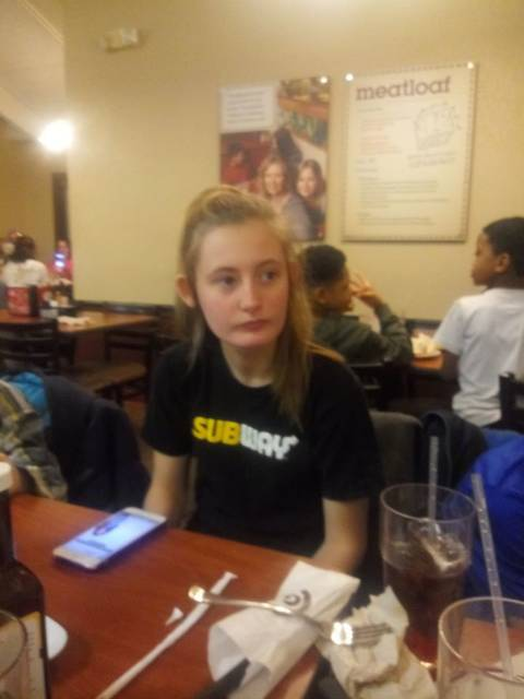 Stephie Skaggs, 14, left her Covington home early Sunday morning. Sheriff's Office is working with the family to locate her and she is believed to be in the Bradford area.