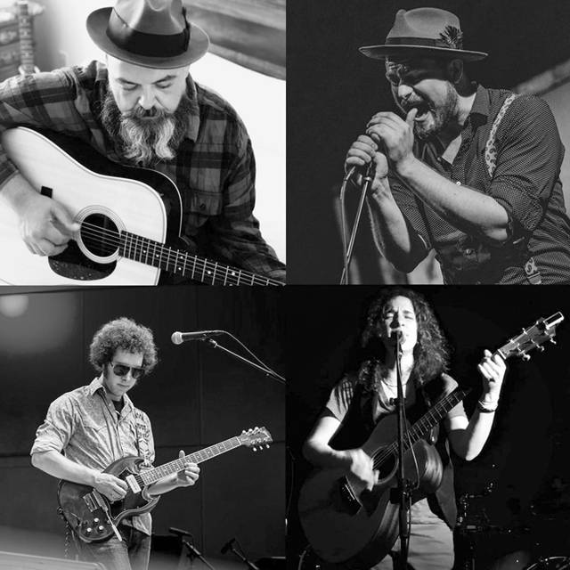 Clockwise starting top left, Harold Hensley, David Payne, Kyleen Downes and Tim Pritchard will perform Friday, March, 6 during the Tippapalooza Winter Showcase.