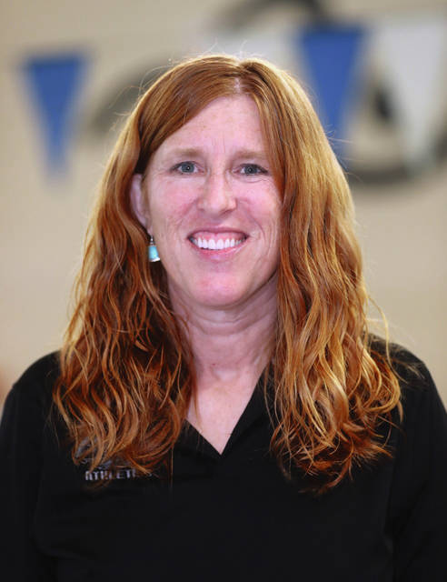 Lee Woolery|MVT File Photo Troy Christian girls swimming coach Pam Fulton was named MBC Coach of the Year.