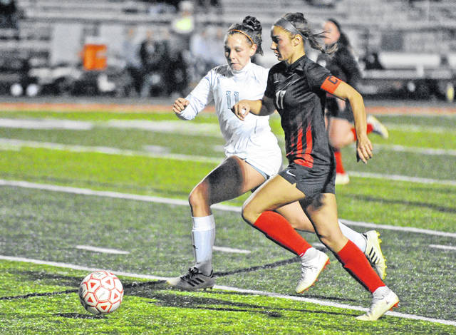 Josh Brown | Miami Valley Today file Milton-Union High School graduate Kristen Dickison completed her freshman season for the Urbana University women's soccer and basketball teams this year. The university announced its permanent closure on Tuesday, which will take effect following the completion of the 2020 spring semester.