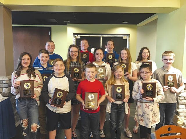 "On Tuesday, March 10, the Piqua Optimists Club honored 14 students who were nominated by teachers and administrators for being excellent examples of optimism in their schools. The students, who are all residents of Piqua, were treated to lunch at Upper Valley Career Center's Cornerstone at 8811 and given an engraved plaque to recognize them for their positive influence. Students honored include: Landry Hinkle and Tiffany Liu from Springcreek Primary School; Kale Baumann and Lilian Wellman from Washington Primary School; McKenna Watson and Austin Wiltheiss from Piqua Central Intermediate School; Miley Heffelfinger and Donovan O'Leary, Piqua Junior Optimist president from Piqua Catholic School; Marin Funderburg and Richard Price from Piqua Junior High School; Colleen O'Leary from Lehman High School; Cameron Foster and Grace Ryan from Piqua High School; and Andrew Grunkemeyer from Upper Valley Career Center. The Piqua Optimist Club is a member of Optimist International, an association of over 2,600 clubs around the world dedicated to ""Bringing Out the Best in Kids."" The club meets the first Saturday each month at 8 a.m. For more information about the Piqua Optimists, visit <a data-auth=""NotApplicable"" href=""http://www.piquaoptimistclub.org/"" rel=""noopener noreferrer"" target=""_blank"">www.piquaoptimistclub.org</a>."