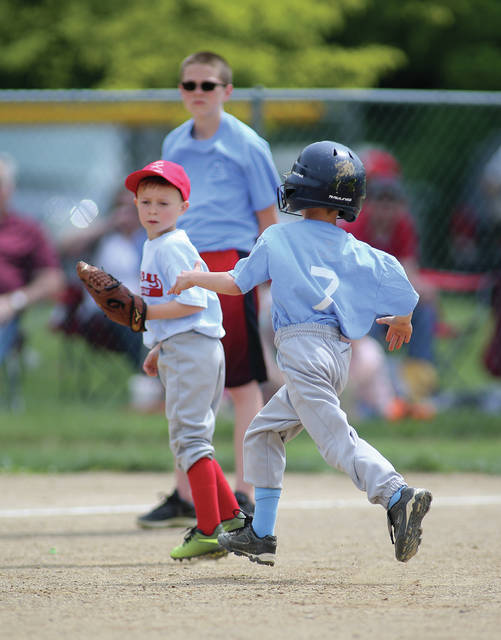 Lee Woolery | Miami Valley Today Troy Junior Baseball is hopeful that it will be able to have a season this summer following Thursday's announcement that non-contact sports can resume beginning May 26.