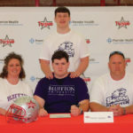 Swallow signs with Bluffton