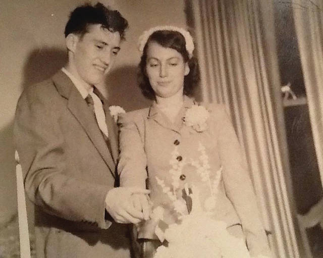 Robert and Joy Smith were married May 22, 1954.