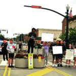 Police brutality protest held in Troy