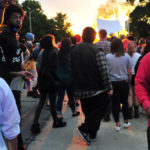 Troy protest sees tensions but ends with peace