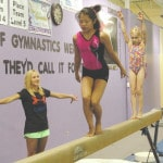 Gymnasts receive golden advice
