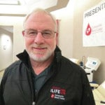 Veteran is donor for life
