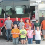 Firefighters show 4-H kids the ropes