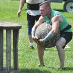 Strongman competitors try to improve selves
