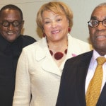 Three CSU presidents meet during homecoming