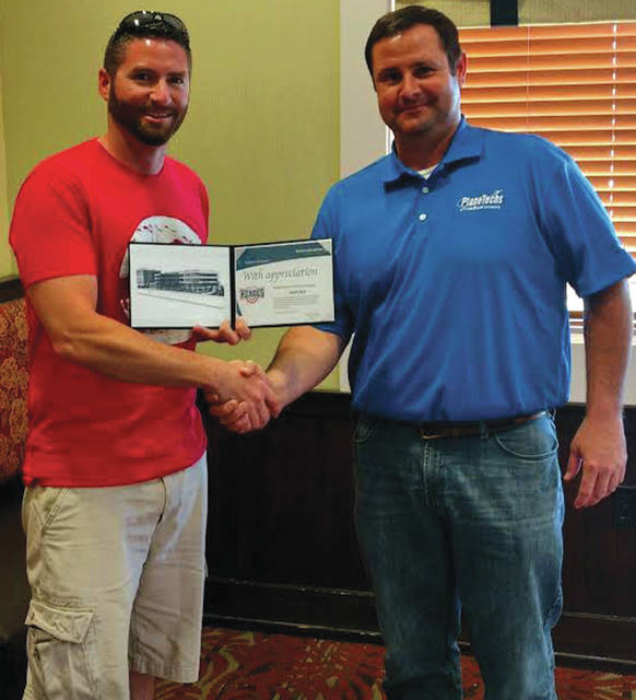Submitted photos Scott Dye was named a Hometown Hero for helping launch lacrosse in the area.