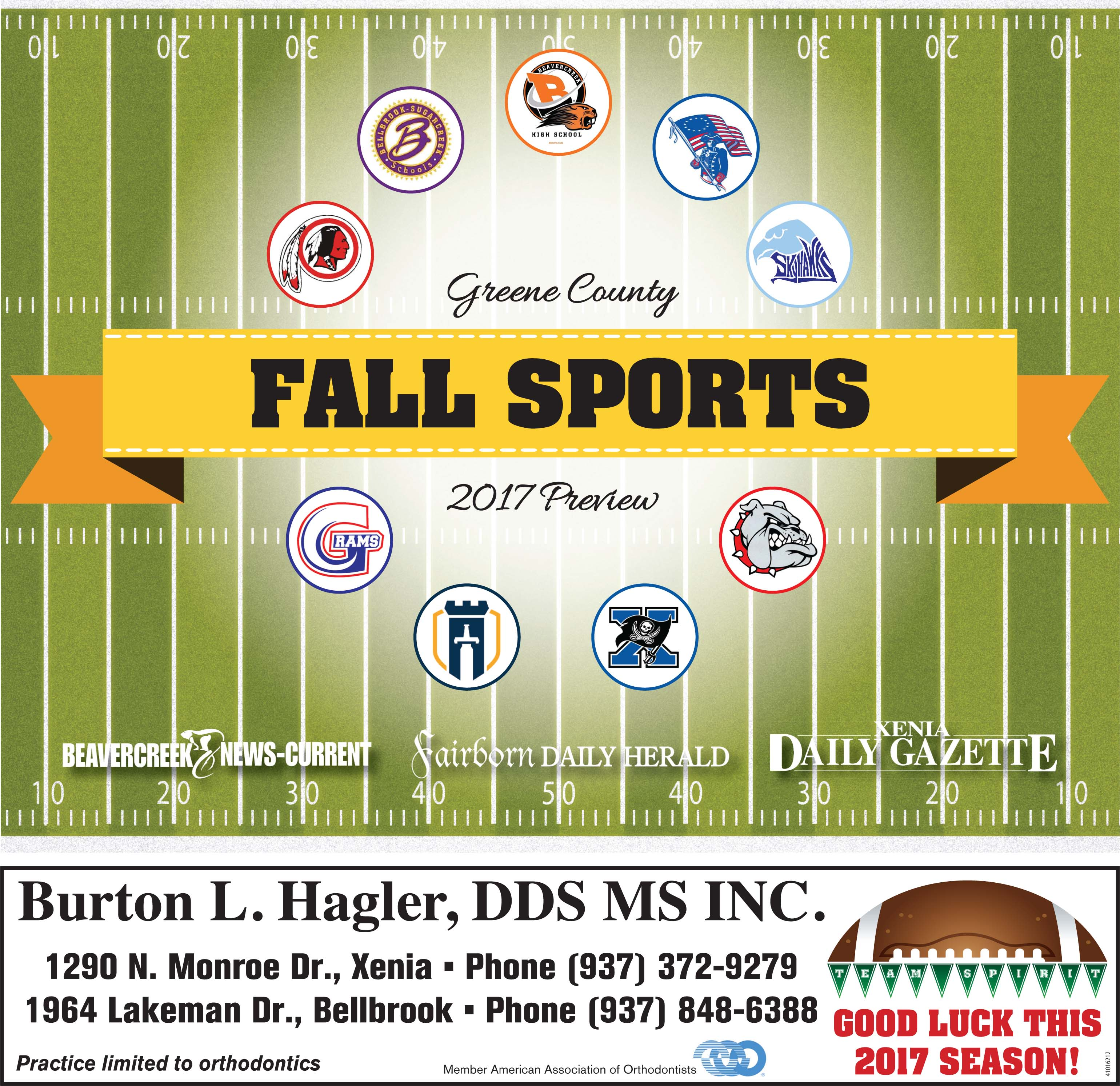 Fall Sports Preview 2017