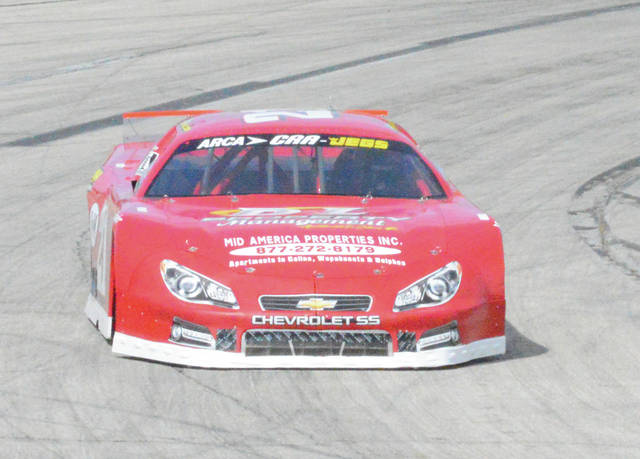 Drew Charleson of New Bremen holds a narrow 15-point lead over Xenia's Ryan Fleming in the Gem City Auto Racing Late Model points standings with two races left in the 2017 season at Kil-Kare Raceway, in Xenia.