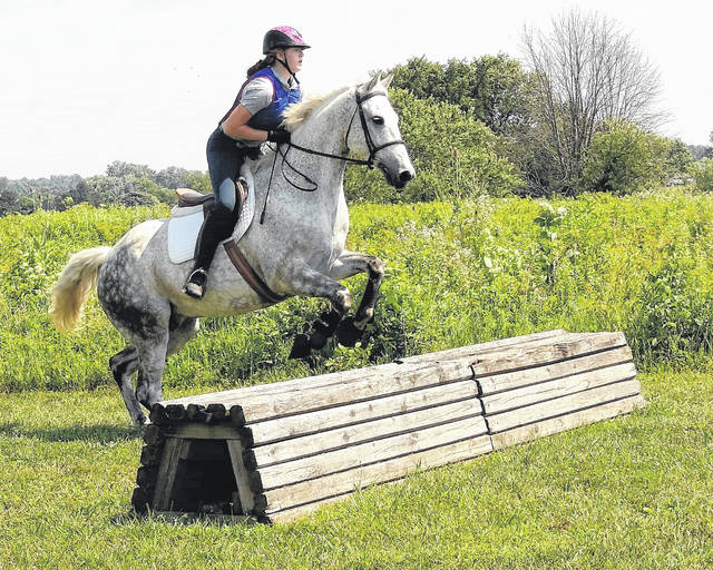 Submitted photos The last open schooling weekend this year at Greene County Parks and Trails' Twin Towers Park will be held Saturday, Oct. 21 and Sunday, Oct. 22 for regional equestrians.