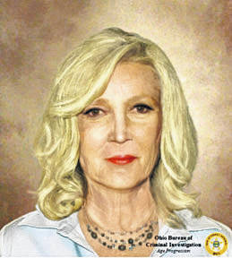 Submitted illustration This is an age-progression image created by BCI's forensic artist to help in the missing persons case of Elaine Johnson, who disappeared from Parma in 1990.