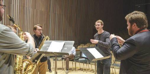 Michael Sawzin and Project Fusion also performed in concert as part of the Chamber Music Yellow Springs concert series.