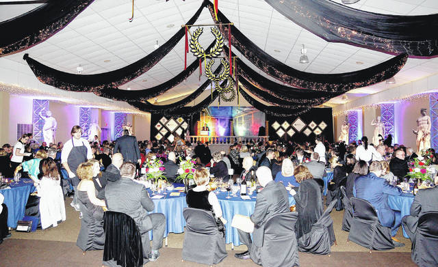Barb Slone | Greene County News The Xenia Area Chamber of Commerce held its 69th Annual Awards Dinner Feb. 24 at the Greene County Fairgrounds.