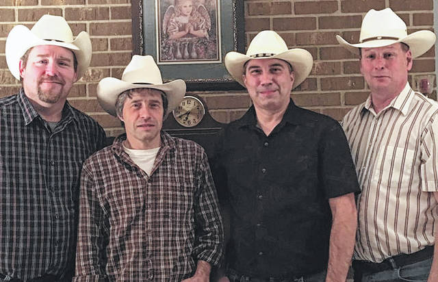 Submitted photo The Hamiltons will present an evening of traditional and modern bluegrass, classic country and gospel music at the Historic Jamestown Opera House, 7 p.m. Saturday, March 3. Tickets are $10 at the door. Handicap accessible seating with a live feed is available. Band members are Lawrence Hamilton on mandolin, Lonnie Hamilton on banjo, Mike Powell on guitar and Tom Patrick on bass. All are vocalists. For more information call 937-675-3501 or visait www.jamestownohiooperahouse.com