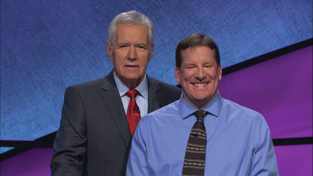 "Submitted photo Rob Worman will appear on ""Jeopardy!"" with host Alex Trebek 7 p.m. Wednesday, Feb. 14 on Channel 2, WDTN NBC Dayton."
