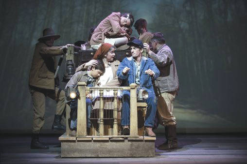 """Submitted photo Wright State Theatre's production of """"The Grapes of Wrath"""" is running now through Feb. 11 in the Festival Playhouse in the Creative Arts Center."""