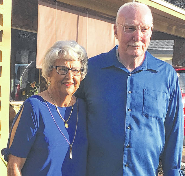 Submitted photo Xenia Natives Rodger and Louise (Brooks) Craig celebrated their 65th wedding anniversary Feb. 7, 2018 in Venice, Fla., with their children.