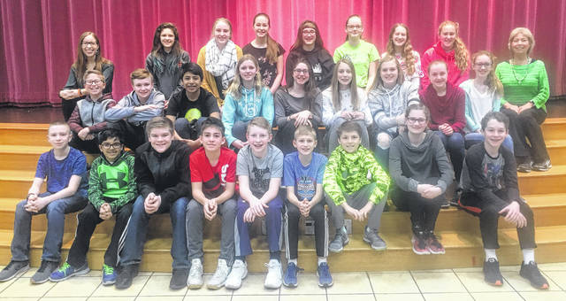 Submitted photos Bellbrook Middle School's district science day participants.