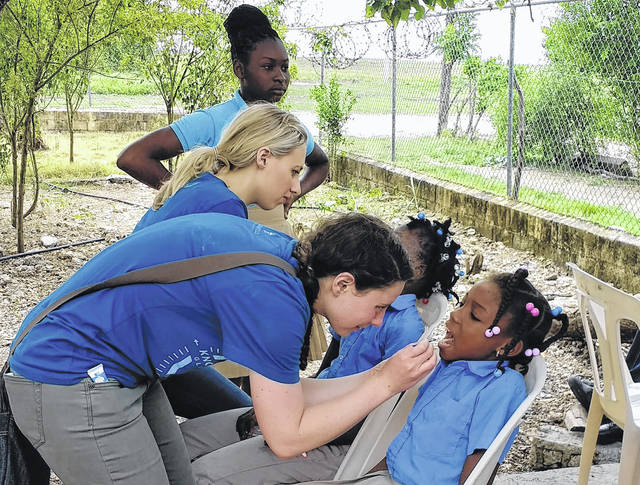 Submitted photo More than 40 professional pharmacy students from Cedarville University will participate in 13 different mission trips.