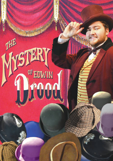 Submitted photo Wright State University Theatre will present 'The Mystery of Edwin Drood' Thursday, March 15 through Sunday, April 8.