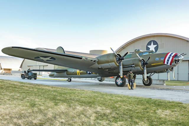 Don Tate | Greene County News The National Museum of the United States Air Force will host a public reveal of the Memphis Belle during a three-day celebration beginning Thursday, May 17.