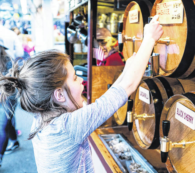 Don Tate | Greene County News Bellbrook hosted its 40th Annual Sugar Maple Festival April 27-29 downtown. The festival featured a maple food contest, anniversary exhibition, vendors and more. Participants enjoyed the 5K run, parade, dog show and children's activities.