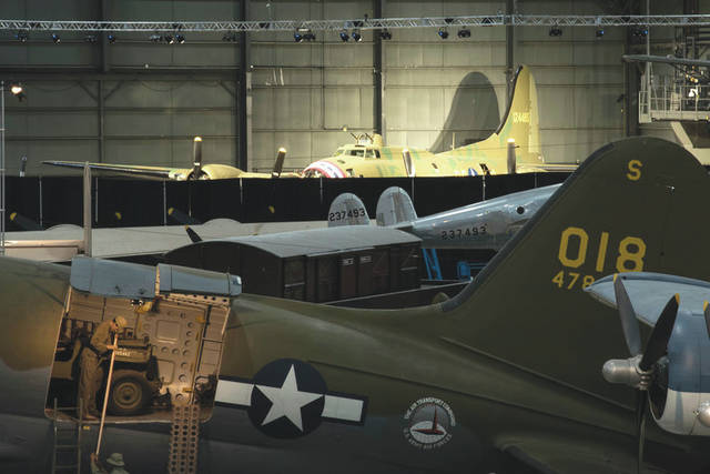 Submitted photo The Boeing B-17F Memphis Belle in the WWII Gallery at the National Museum of the U.S. Air Force. This aircraft will be placed on permanent public display on May 17.