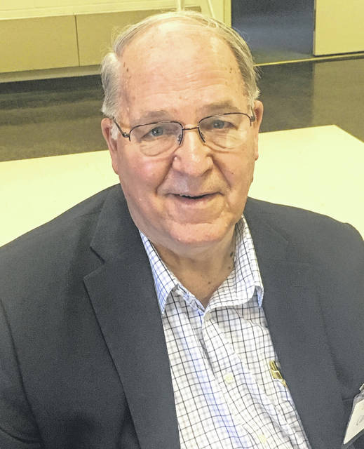 Submitted photos Roy Carr of Cedarville was featured at the Greene County Retired Teachers Association's spring meeting.