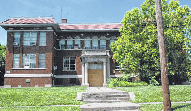 Scott Halasz | Greene County News The old East High School building has been vacant for five years. The Xenia school district is going to sell it in order to save money.