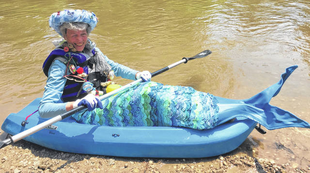 Submitted photo The Little Miami Mermaid will be a part of the Paddle and Flight Festival Sunday, July 1.