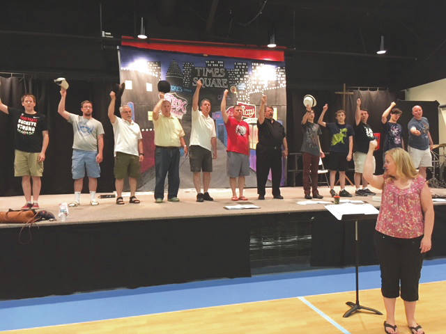 "Submitted photo Abiding Christ Lutheran Church in Fairborn will present ""Guys and Dolls"" on Saturday, June 30 and Sunday, July 1"