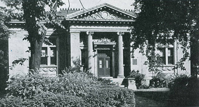 File photo Carnegie Library, 194 East Church Street, in 1940. Xenia's first library dates to March 1816.