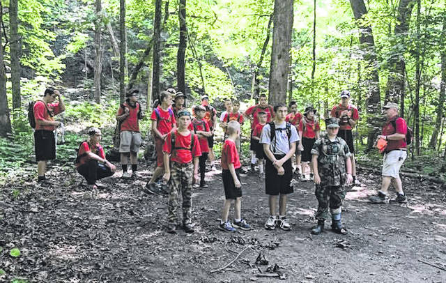 Young Marines prepare for Advanced Field training.