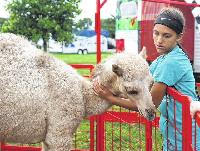Barb Slone | Greene County News The High Flying Pages preformed for audiences throughout the week of the Greene County Fair.